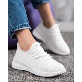 SHELOVET Tekstylne Sneakersy żółte 2