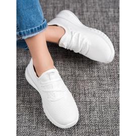 SHELOVET Tekstylne Sneakersy żółte 1