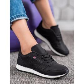 Camo Klasyczne Czarne Buty Sportowe 5