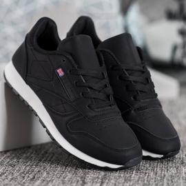 Camo Klasyczne Czarne Buty Sportowe 2