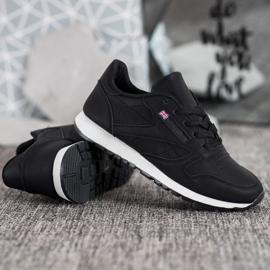 Camo Klasyczne Czarne Buty Sportowe 3