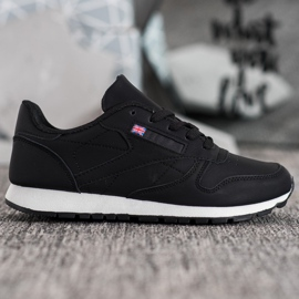 Camo Klasyczne Czarne Buty Sportowe 4