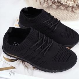 EVE Sportowe Buty Dziecięce Czarne Filip 1