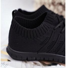 EVE Sportowe Buty Dziecięce Czarne Filip 3