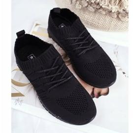 EVE Sportowe Buty Dziecięce Czarne Filip 4