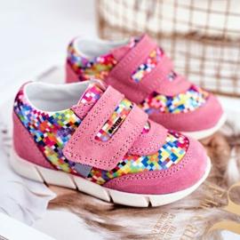 Bartek S.A. Dziecięce Półbuty Dla Dziewcząt Różowe Bartek T-71949/S19 1