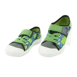 Befado obuwie dziecięce 251Y148 szare wielokolorowe zielone 4