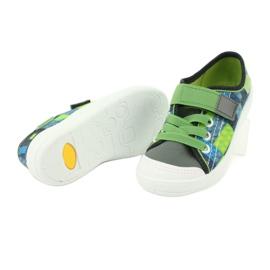 Befado obuwie dziecięce 251Y148 szare wielokolorowe zielone 5