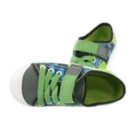 Befado obuwie dziecięce 251Y148 szare wielokolorowe zielone 6