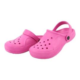 Befado obuwie dziecięce róż 159Y001 różowe 4