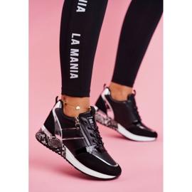 Sportowe Damskie Buty Czarne Figure 1