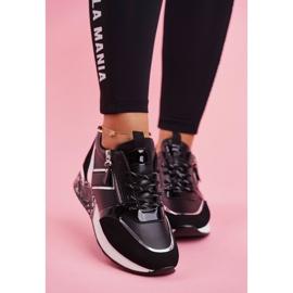 Sportowe Damskie Buty Czarne Figure 3