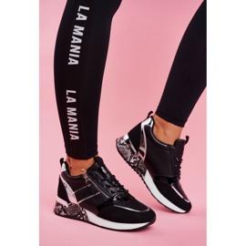 Sportowe Damskie Buty Czarne Figure 2