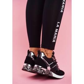 Sportowe Damskie Buty Czarne Figure 4