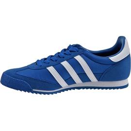 Buty adidas Dragon Og Jr BB2486 niebieskie 1