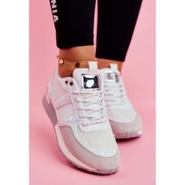 Sportowe Damskie Buty Białe Himme 2