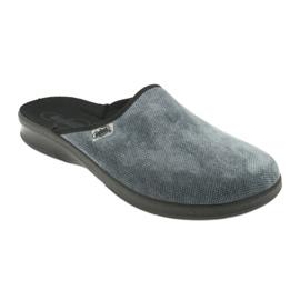 Befado obuwie męskie pu 548M017 szare 2