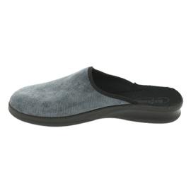 Befado obuwie męskie pu 548M017 szare 3