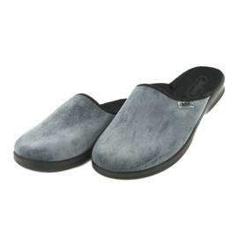 Befado obuwie męskie pu 548M017 szare 4