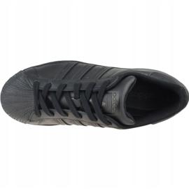 Buty adidas Superstar Jr FU7713 czarne szare 2