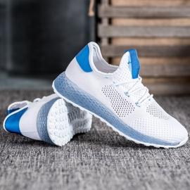 SHELOVET Białe Ażurowe Sneakersy 3
