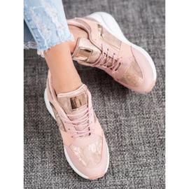 SHELOVET Sneakersy Na Koturnie 2