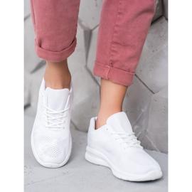 Renda Ażurowe Buty Sportowe białe 1