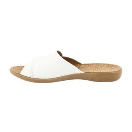 Befado obuwie damskie pu 265D002 białe 2