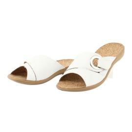 Befado obuwie damskie pu 265D002 białe 3