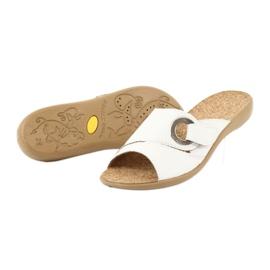 Befado obuwie damskie pu 265D002 białe 4