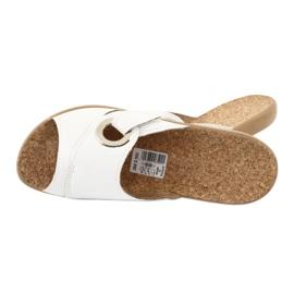 Befado obuwie damskie pu 265D002 białe 5