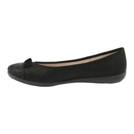 Befado obuwie młodzieżowe 309Q018 czarne 2