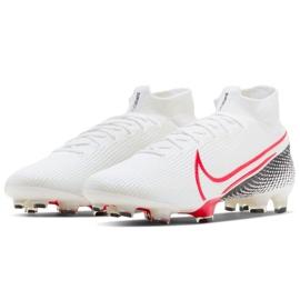 Buty piłkarskie Nike Mercurial Superfly 7 Elite Fg M AQ4174 160 białe białe 2