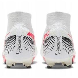Buty piłkarskie Nike Mercurial Superfly 7 Elite Fg M AQ4174 160 białe białe 5