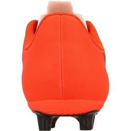 Buty piłkarskie Puma evoSPEED 5.5 Tricks Fg M 10359603 wielokolorowe czerwone 3
