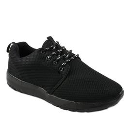 Czarne sportowe męskie obuwie MN15-2 1