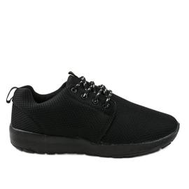 Czarne sportowe męskie obuwie MN15-2 2