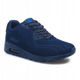 Granatowe sportowe obuwie męskie 5586-2 3