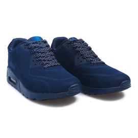 Granatowe sportowe obuwie męskie 5586-2 1