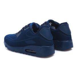 Granatowe sportowe obuwie męskie 5586-2 2