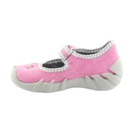 Befado obuwie dziecięce 109P180 różowe 5