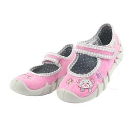 Befado obuwie dziecięce 109P180 różowe 7