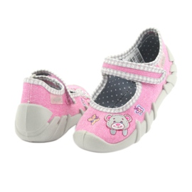 Befado obuwie dziecięce 109P180 różowe 9