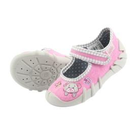 Befado obuwie dziecięce 109P180 różowe 11