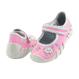 Befado obuwie dziecięce 109P180 różowe 10