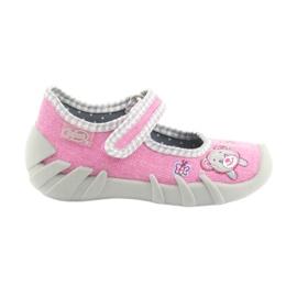Befado obuwie dziecięce 109P180 różowe 2