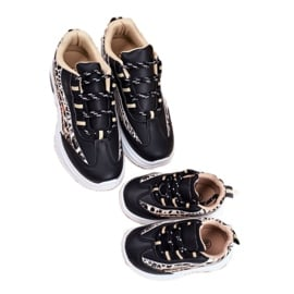 FRROCK Sportowe Buty Dziecięce Czarne Dante 4