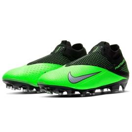Buty piłkkarskie Nike Phantom Vsn 2 Elite Df Fg M CD4161 036 zielone wielokolorowe 1