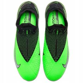 Buty piłkkarskie Nike Phantom Vsn 2 Elite Df Fg M CD4161 036 zielone wielokolorowe 3