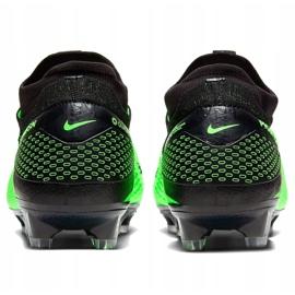 Buty piłkkarskie Nike Phantom Vsn 2 Elite Df Fg M CD4161 036 zielone wielokolorowe 4
